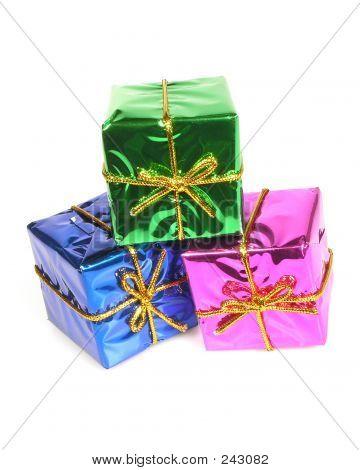 Shiny Gift Boxes