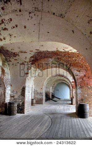 Fort Pulaski in Georgia