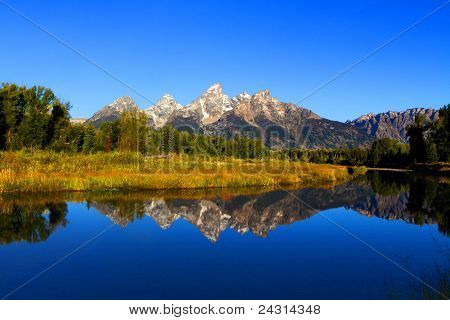 Schwabacher's Landing In The Grand Tetons