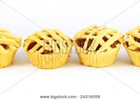 Tart With Pineapple Jam, Thai Sweet