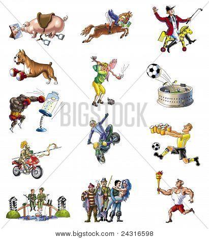 various sport