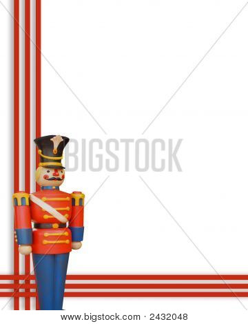 Toy Wooden Soldier Border