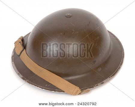 WW11 British Helmet