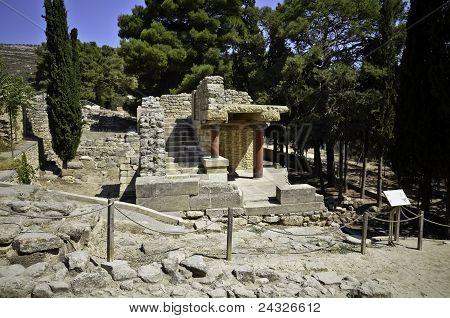 Knossos temple