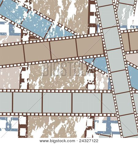 Grunge Films Background