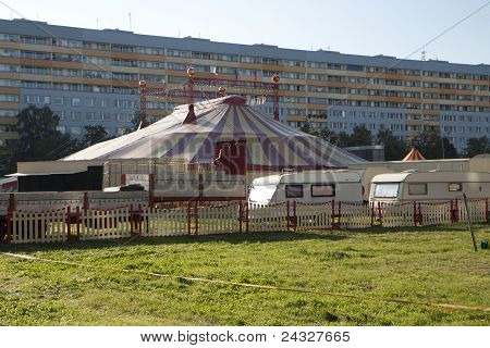 Circus In City