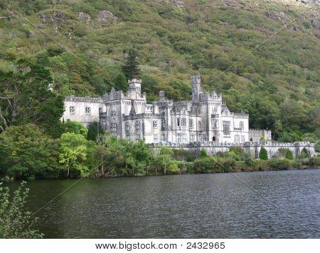 Irish Castle On A Lake