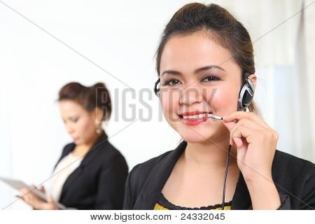 Businesswoman On Phone