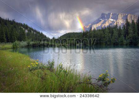 Cascade Ponds Rainbow
