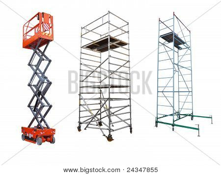 Scaffolds And Lift