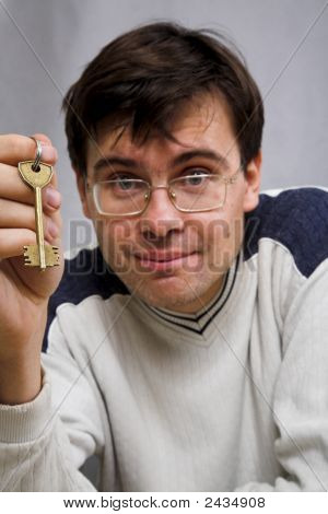 Man With Key
