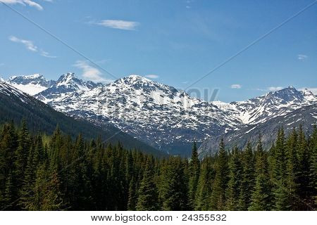 White Pass & Yukon Route View