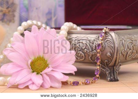 Bracelet And Flower
