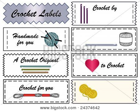 Crochet Labels