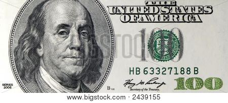 One Hundred Dollar Bill Macro