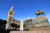 Plaza Independencia In Montevideo
