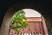 The Beautiful And Magnificent Stockholm City Hall. Home To The Blue Hall Where The Nobel Prize Cerem poster