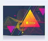 Modern Vector Template For Brochure, Leaflet, Flyer, Advert, Cover, Banner, Catalog, Magazine Or Ann poster