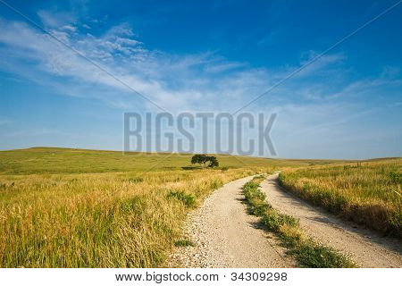 Flint Hills Gravel Road