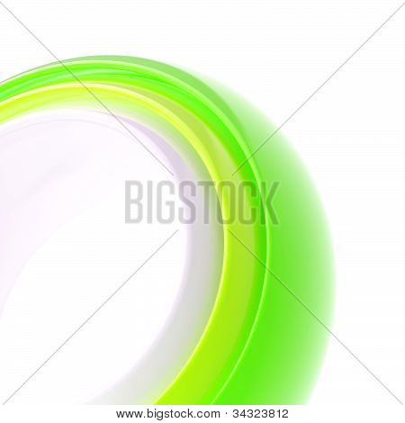Abstract copyspace background of torus