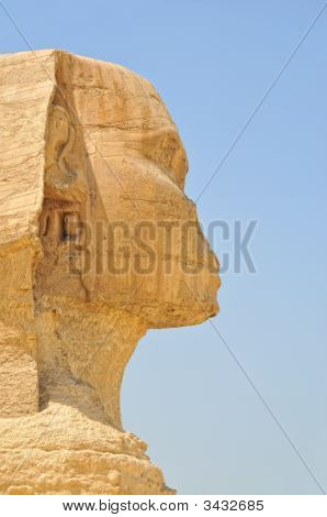 Head Of The Sphinx Of Gizeh