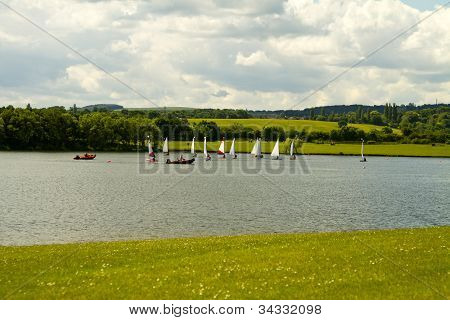 Boats On The Water At Pugneys Water Park