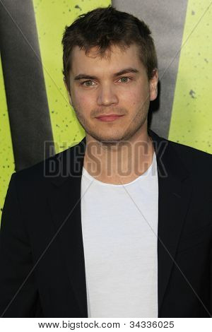 LOS ANGELES - JUN 25: Emile Hirsch at the premiere of Universal Pictures' 'Savages' at Westwood Village on June 25, 2012 in Los Angeles, California