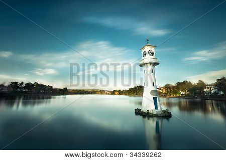 view of Roath park