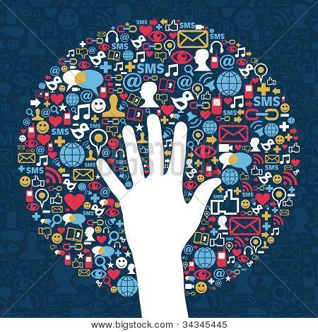 Negocios de la red de redes sociales