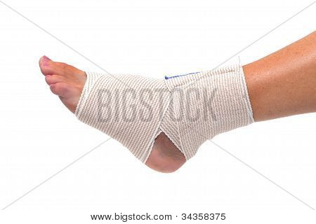 Wrapped Foot