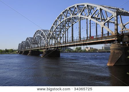 Railway Bridge - Riga - Landscape