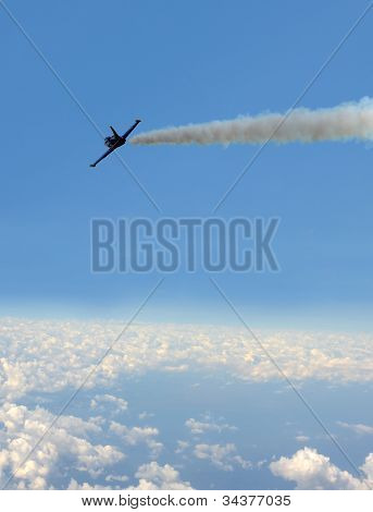 Jet At High Altitude