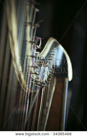 Harfe-detail