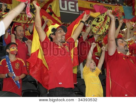 Spanish National Team Fans