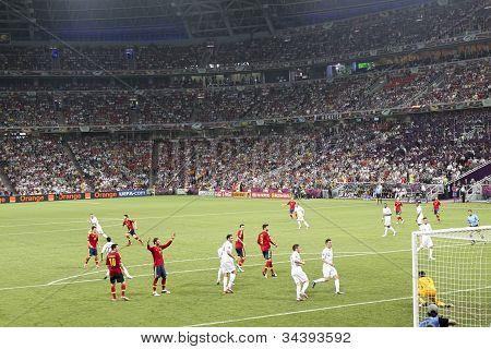 Euro 2012. Spain Vs. France