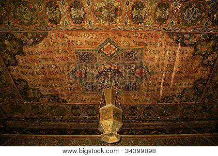 Vintage Painted Ceiling