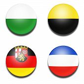Civil flag balls of Germany state