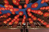 Lantern On The Lantern Festival Of China. Lantern Festival Is One Of The Most Important Chinese Fest poster