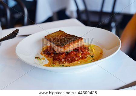 Ocean Trout Dinner