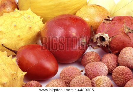 Tropical Fruit And Vegetables