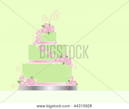 Decorated Cake