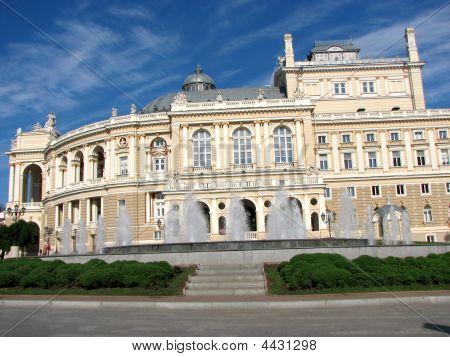 Photo Of Russian Opera House In Ukraine
