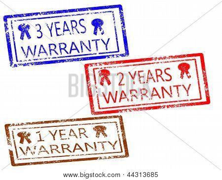 Warranty Stamps Set
