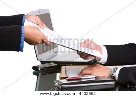 Giving The Document