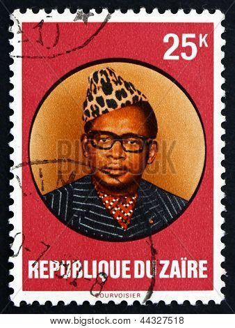Postage Stamp Zaire 1978 Joseph D. Mobutu, President