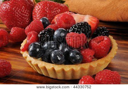 Gourmet Fruit Tart