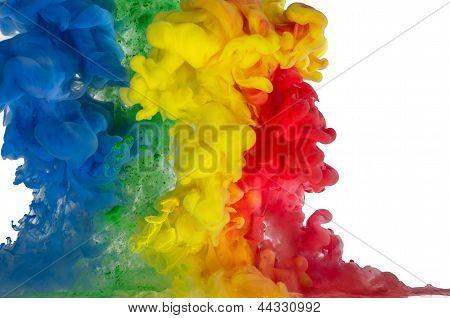 Mixed Colored Liquid