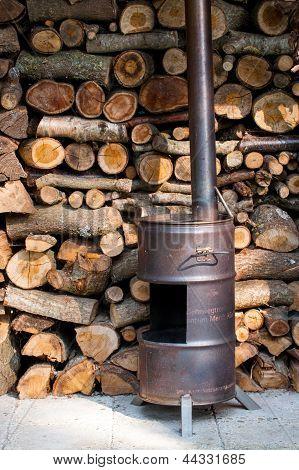 Homemade Wood Burner