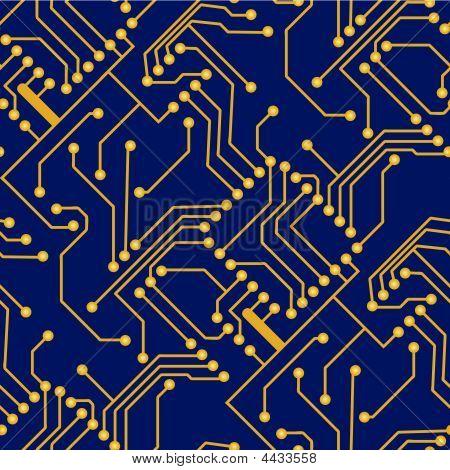 Seamless Electronic Board