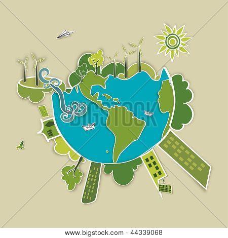 Fondo Mundial verde